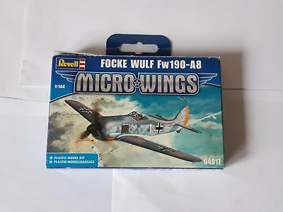 Revell 04917 Micro Wings Focke Wulf Fw 190 A8 German Air Fighter 1:144 WWII