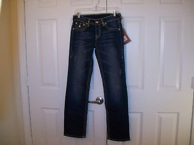 True Religion Billy Super T cotton stretch blue jeans size 28 NWT