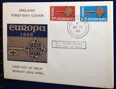 Ireland Europa 1968 First Day Cover