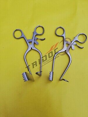 William Type Discectomy retractor Left 2pcs Surgical instruments  NEW Quality A+