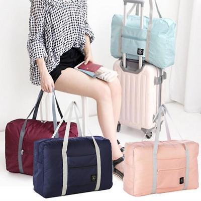 Portable Travel Bag Storage Waterproof Polyester Folding Luggage Handbag Pouch