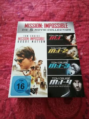 Mission: Impossible - Die 5-Movie-Collection 5-Movie-Set  [5 Blu Ray] (2016)