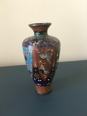 Late 19th Century / Early 20th Century Chinese Cloisonne Enamel Vase