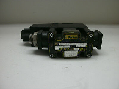 Parker D1Vw4Enycf563072Xb042 Hydraulic Directional Control Valve 120/60-110/50