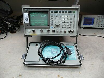 HP Agilent  8921A  8920A Communications Service Monitor Spectrum Analyzer LOADED