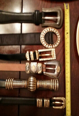 Lot Of 6 Belts...different brands.some unbranded