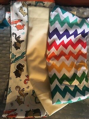 3 Travel Size Wet Bags (cloth Diapers)