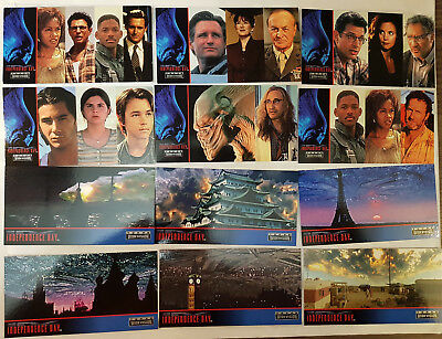 Independence Day ID4 Widevision Trading Cards Komplettsatz Topps 1996
