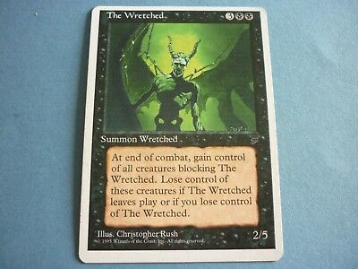 THE WRETCHED, Chronicles, Creature,  Magic The Gathering, MTG