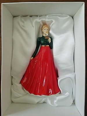 Royal Doulton CHRISTMAS EVE Christmas Day Petite 2015 #HN5732 - NEW IN BOX!!!!!!