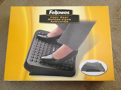Fellowes Standard Adjustable Tilt Textured Footrest CRC 48121 **FAST SHIPPING**