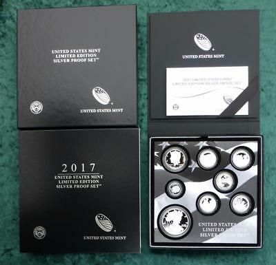 2017 U.S. Mint Limited Edition Silver Proof 8-Coin Set, 1oz Silver Eagle $1