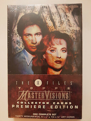 Akte X The X-Files MasterVisions Collector Cards Komplettsatz NEU Topps 1995