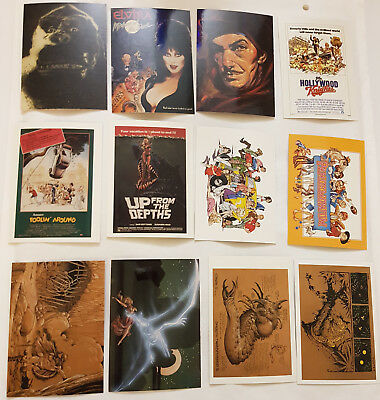 William Stout Saurians & Sorcerers Trading Cards Komplettsatz Comic Images 1996