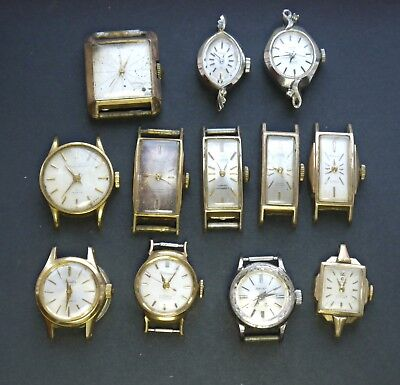 JOB LOT of 11x Vintage Japanese Citizen and Orient Ladies Watches