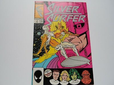 Silver Surfer 1 (1987) VFN White Pages First Print