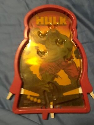 "Hulk pinball machine early 70""s"