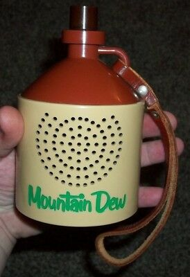 Rare vintage mountain dew hillbilly advertising am transitor radio WORKS!!
