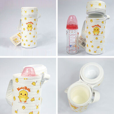 Travel Baby Feeding Bottle Thermal Insulate Warmer Pouch Hanging Bag Holder