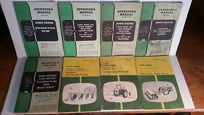 John Deere Operator's Manuals lot