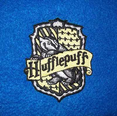 "hufflepuff  iron on embroidered patch 3.0"" X 2.7"" HARRY POTTER HOGWARTS MAGIC"