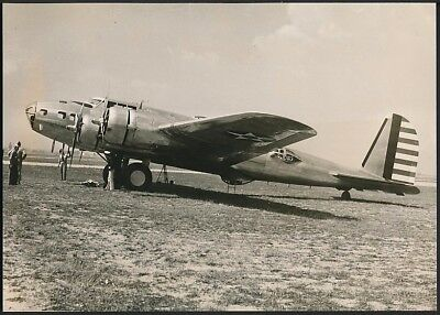 1939 Original Photo WWII - U.S. Army Air Force B-17 FLYING FORTRESS Bomber