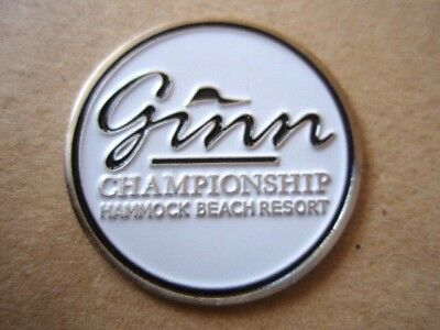 "Ginn Championship At Hammock Beach (Champions Tour) 1"" Coin Golf Ball Marker"