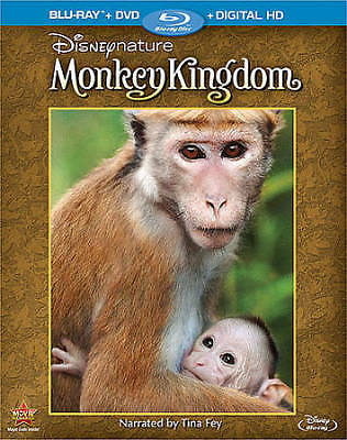 Monkey Kingdom (Blu-ray/DVD, 2015, 2-Disc Set, Canadian Bilingual)