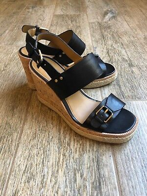 ba52ba6ae848 G.H. BASS   Co. Womens Tyra Slingback Wedge Sandal Caramel Leather ...