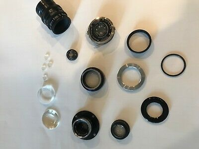 Assorted lot of lens, no specific information, 16 pieces