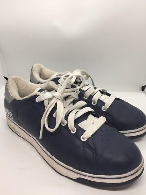 REEBOK RBK S CARTER Collection NYC Navy Leather JAY Z Tennis Shoe US Size 7 d42cdfcfb