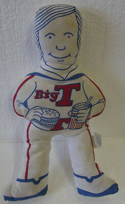 Vintage Big T Promo Character Cloth Doll