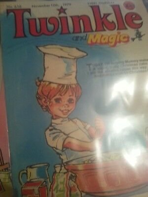 Twinkle and Magic Comic for Little Girls.No.616 November 10th 1979.