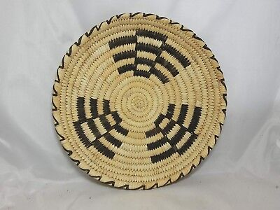 Vintage Papago Coiled Basket Tray