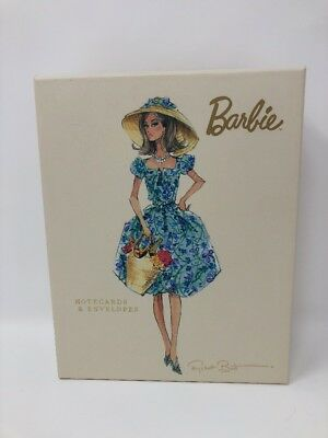 20 Barbie Note Cards Robert Best Graphique De France 4 Designs Hat Basket