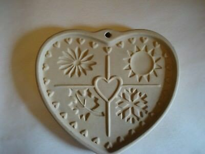 """PAMPERED CHEF Seasons of the Heart, 1997, Family Heritage Collection, 6"""" x 5"""""""