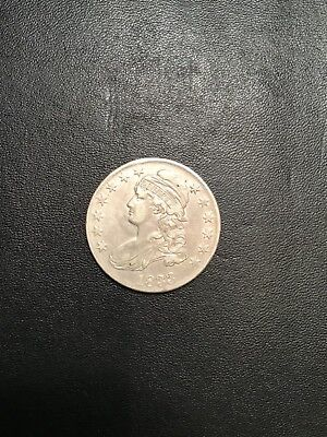 1833 Capped Bust Half Dollar Xf+ Nice Full Strike