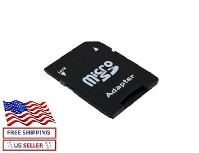 Micro SD to SD HC SDHC Memory Card Adapter Reader - NEW - MicroSD Adapter