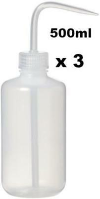 Thinners Solvent Squirter Spray Maintence Gun Cleaning Bottle 500ml x 3