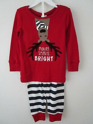 Gymboree Baby Girl Making Spirits Bright Reindeer Gymmies Size 12-18 mo NWT