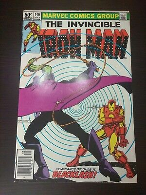 The Invincible Iron Man #146, 1st Appearance of Backlash !!