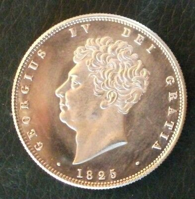 1825 Retro Halfcrown. Souvenir Gap Filler. Exact same size/weight as original.