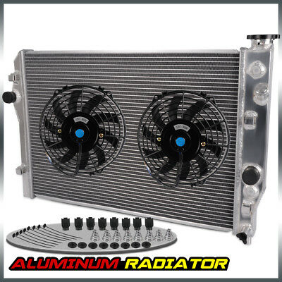 "Aluminum Radiator + 9"" Fan For Camaro/ Pontiac Firebird/Trans AM V8 1993-2002"