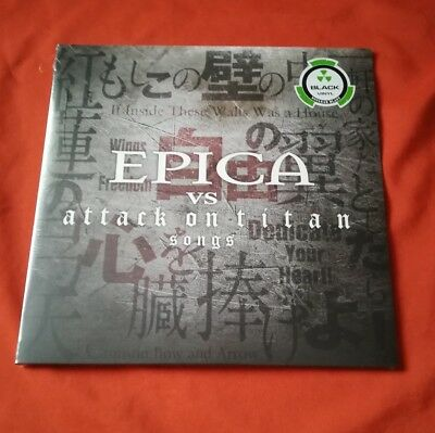 EPICA - vs Attack On Titan Songs / Gatefold / Black Vinyl - NEU & OVP