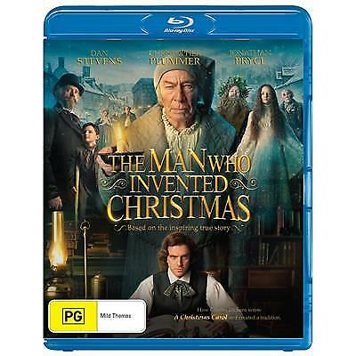 Man Who Invented Christmas Blu ray Region B Brand new & sealed (C)