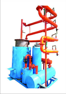Pyrolysis machine make your own diesel with plastic tire rubber waste used oil