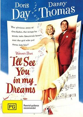 I'll See You In My Dreams ( Doris Day )  - New Region All DVD