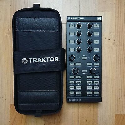 Native Instruments Traktor Kontrol X1 MK1 DJ Controller + original BAG