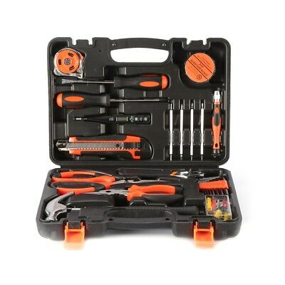 45-Piece Homeowner's Tool Kit General Household Hand Hardware Tool Set OY