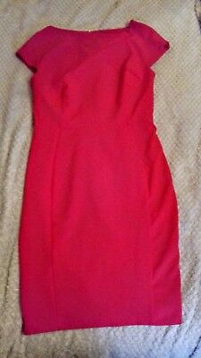 1950's Style Wiggle Dress. Red. Size 10.  From  VERY. Vintage